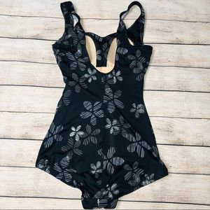 41b5a5c3601fd Maxine of Hollywood Swim - Maxine of Hollywood Swimsuit Black Floral